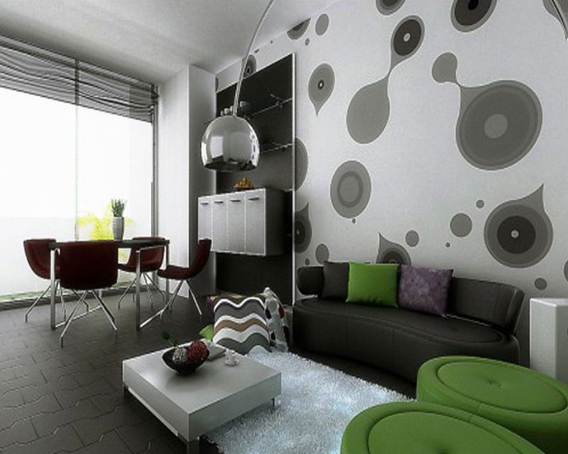 home decor color trends 2013 pop of green for the living room