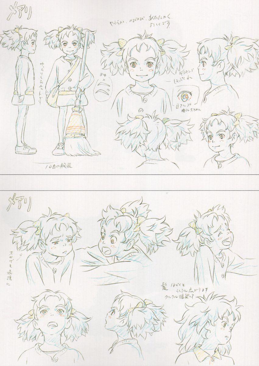 Twitter Animation Artwork Ghibli Art Studio Ghibli Characters