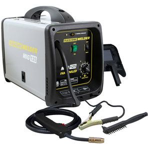 Buffalo Tools Pro Series 125 Amp Fluxcore Mig Welder Kit Mig Welder Welders Best Mig Welder