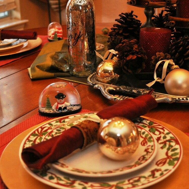Pin by Kelly Judge on Christmas Tablescapes Pinterest Christmas