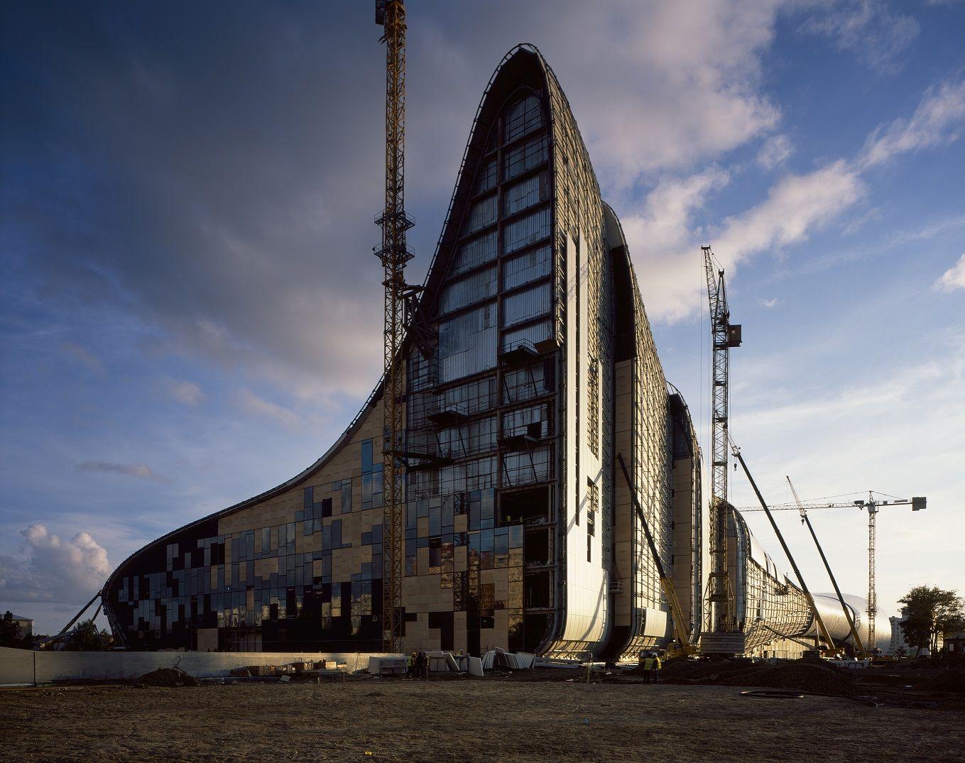 Zaha Hadid Architects Have Designed The Heydar Aliyev Center In Baku,  Azerbaijan.