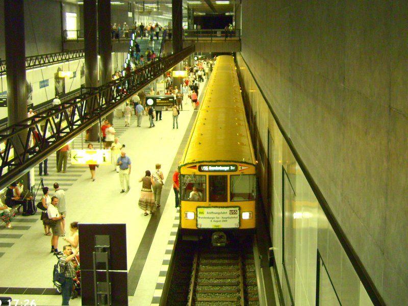 Berlin U Bahn Linie 55 - BERLINTUH