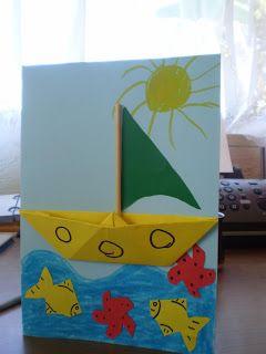 * Vakantie! Laat als extra het kind in het bootje zitten door zich zelf te tekenen of kn/pl.
