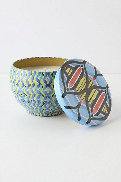 Illume Tapestry Candle Tin - StyleSays