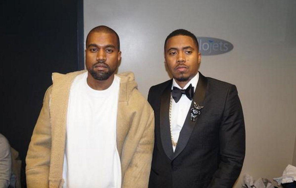 Kanye West Asema Atasimamia Album Ya Nas Kutoka Juni 15 Kanye West Atasimamia Production Katika Albamu Mpya Ya Nas Itakayotoka Jun Kanye West Nas Albums Kanye