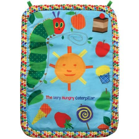 Eric Carle The Very Hungry Caterpillar Tummy Time Playmat and Pillow