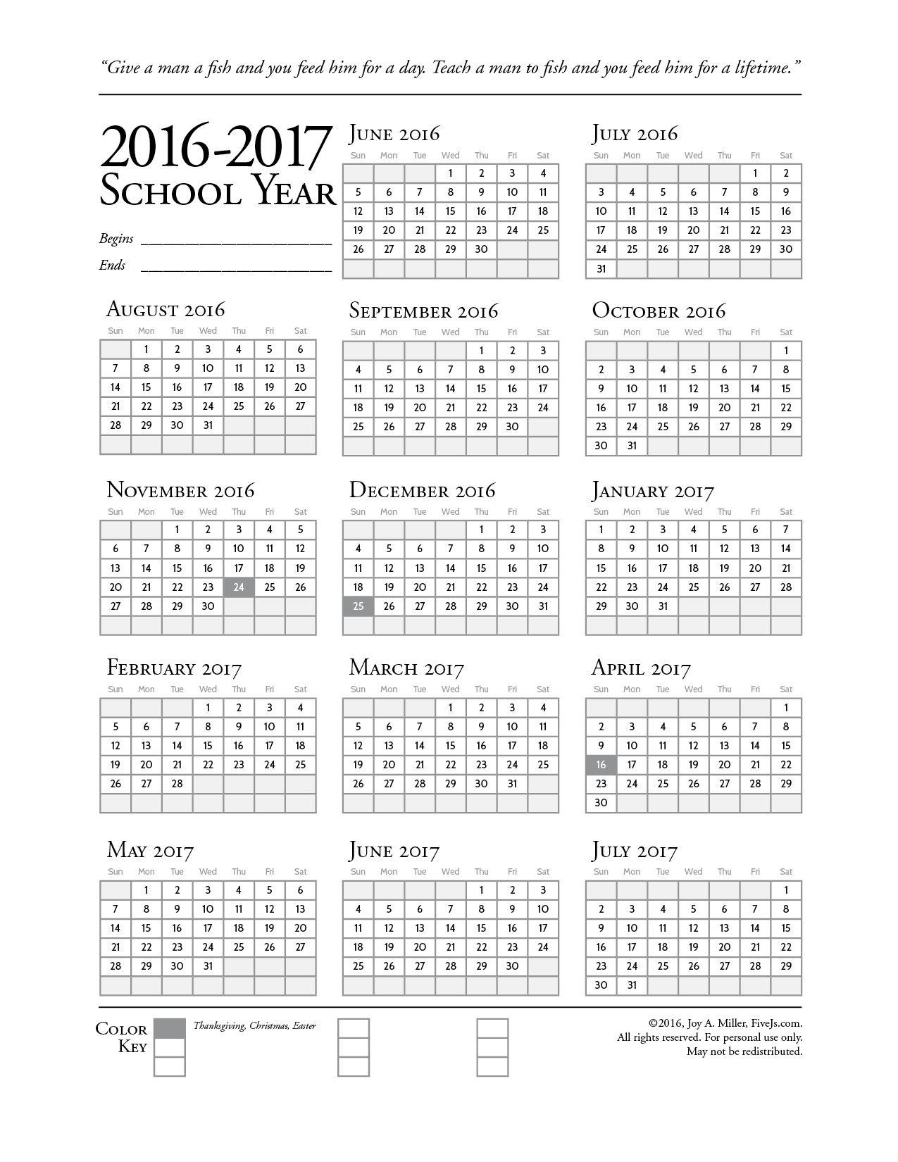 Homeschool Printables Downloads Five J S Homeschool Homeschool Calendar School Calendar Homeschool Printables [ 1650 x 1275 Pixel ]