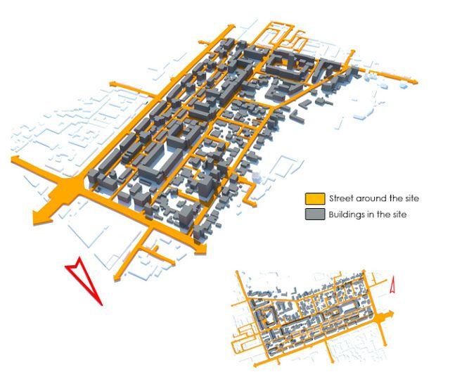 Urban Site Analysis Example Google Search Site Analysis Site Analysis Architecture Diagram Architecture