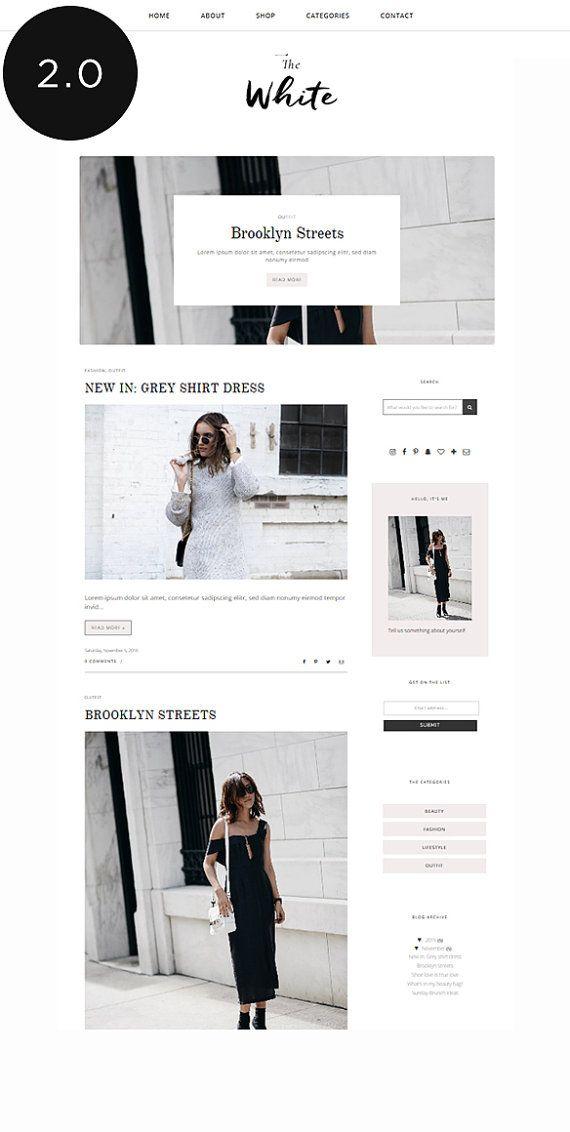 Blogger Template with Post Slider / Responsive Blog Theme / Premade