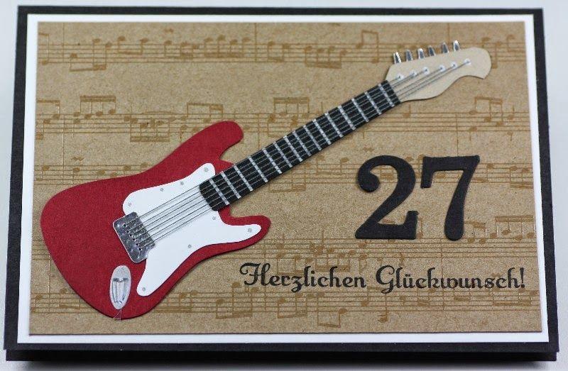 E Gitarre Zum Geburstag Geburtstag Musik Gitarre Zum Geburstag