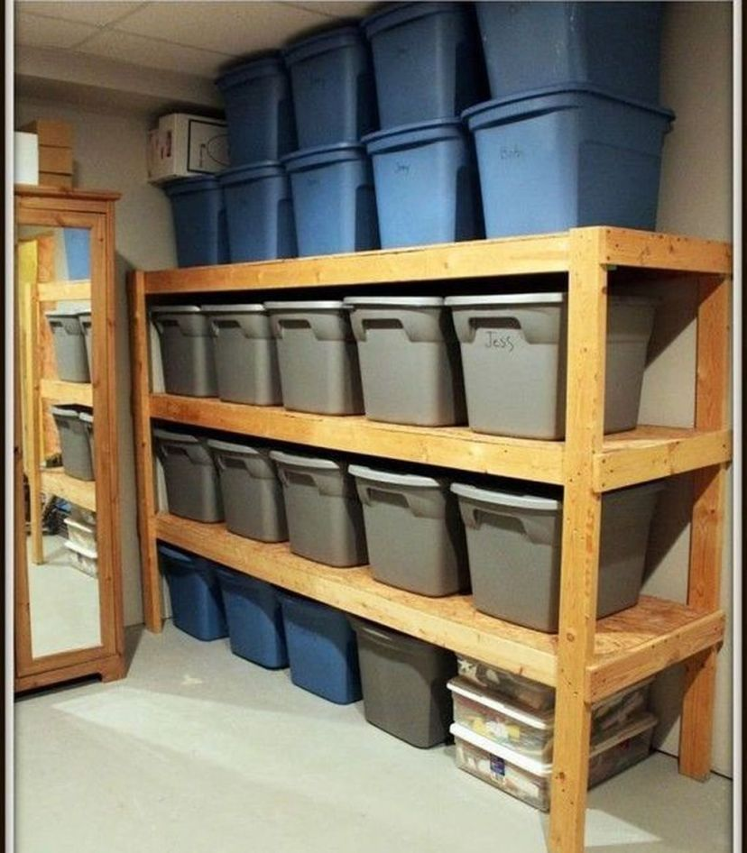 20 Clever Basement Storage Ideas: 49 Clever Garden Shed Storage Ideas In 2020
