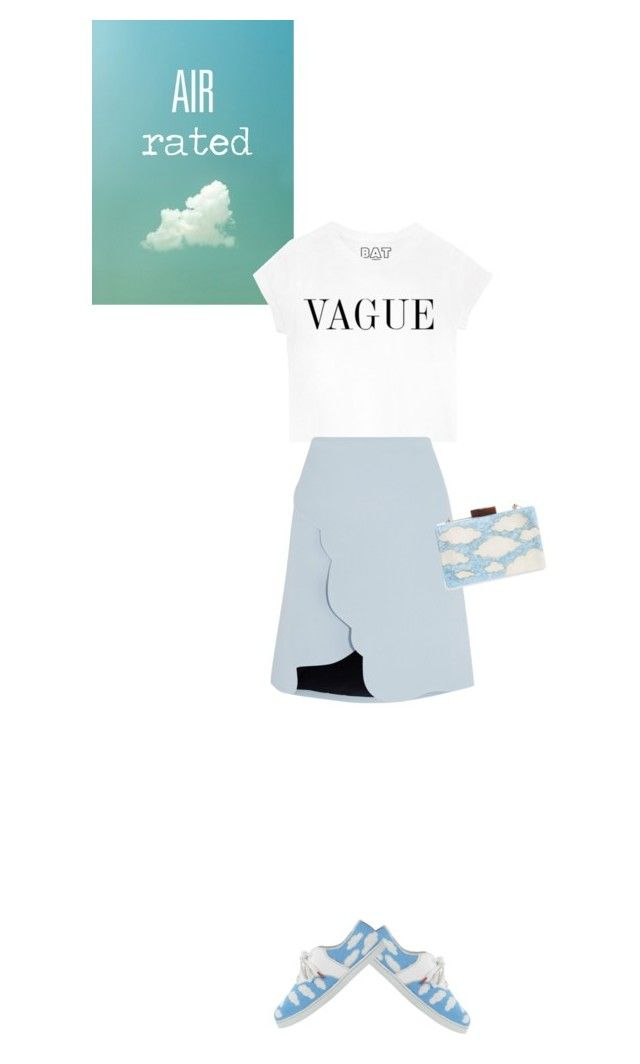 """""""Head in the clouds"""" by sherbetfountain ❤ liked on Polyvore featuring Behance, Carven, Twins For Peace and Natasha Couture"""