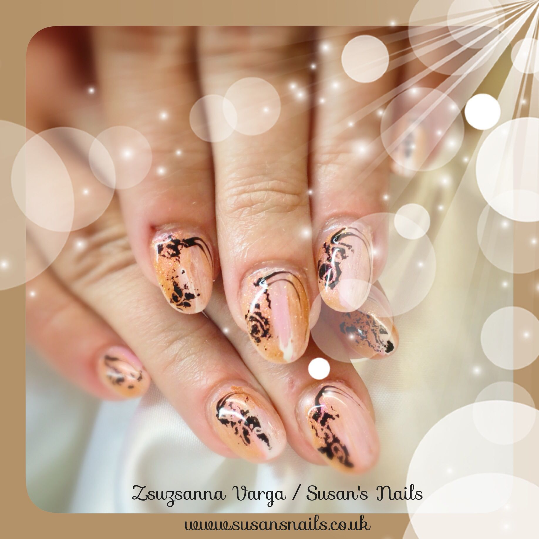 Tanya\'s new nails with Mosaic products. Free Open Day on 13th July ...