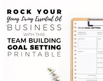 Make Communicating With Your Team Easy Business Builder Tools And Resources For Young Living Set Goals Then Soar Right Past Them
