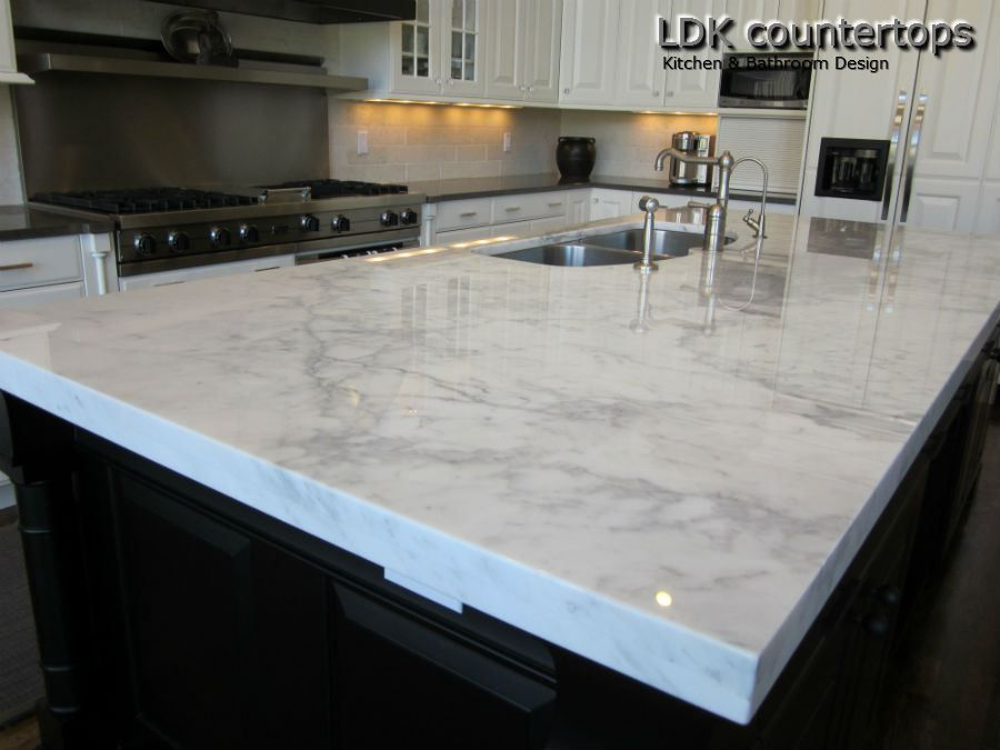 White Quartz Kitchen Countertops quartz countertops that look like like marble. description from