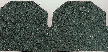 Best Alessio Green Hexagon Asphalt Shingles 177 Sq In Es 1 400 x 300