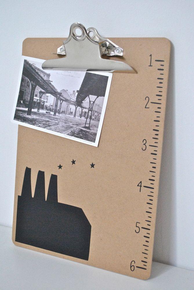 porte bloc pince pour documents a4 il est agr ment d. Black Bedroom Furniture Sets. Home Design Ideas