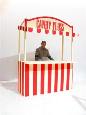 Event Prop Hire: Candy Floss Stall
