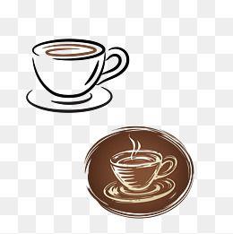 Grafico De Vetor De Uma Xicara De Cafe