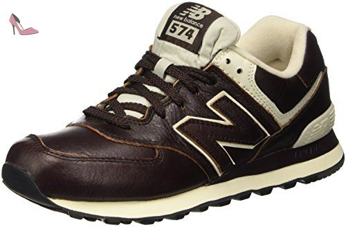 574 new balance homme marron