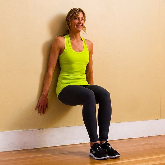 #strengthen #popsugar #prevent #runners #fitness #squats #heres #quads #avoid #knee #with #wall #how...