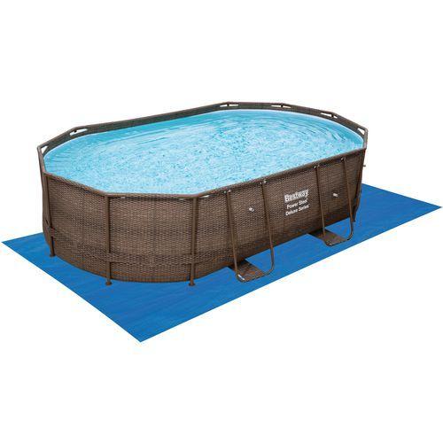 Bestway Rattan 10 ft x 16 ft x 42 in Oval Pool   Outdoor living ...