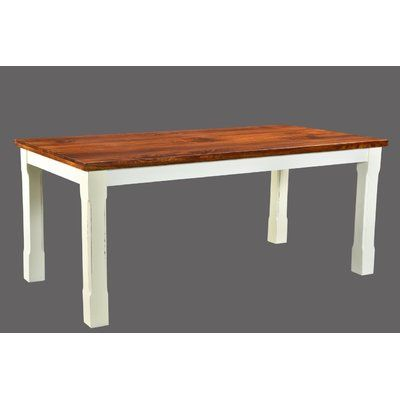 August Grove Lesley Dining Table Size 30 H X 36 W X 60 D In 2020 Farmhouse Chic Dining Table Country Bedroom Furniture