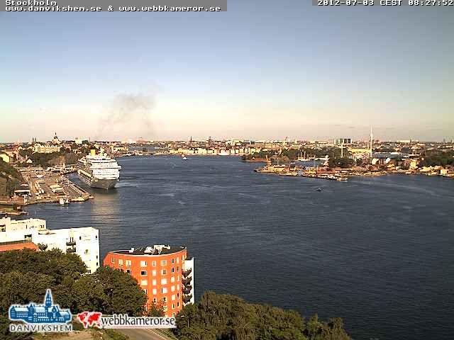 Stockholm - Costa Fortuna attracco