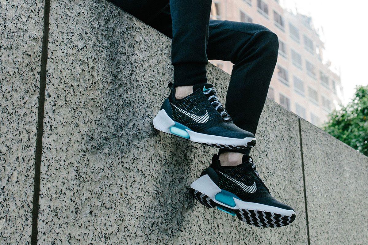Nike HyperAdapt 1.0 'Black/Blue Lagoon' - EU Kicks: Sneaker Magazine