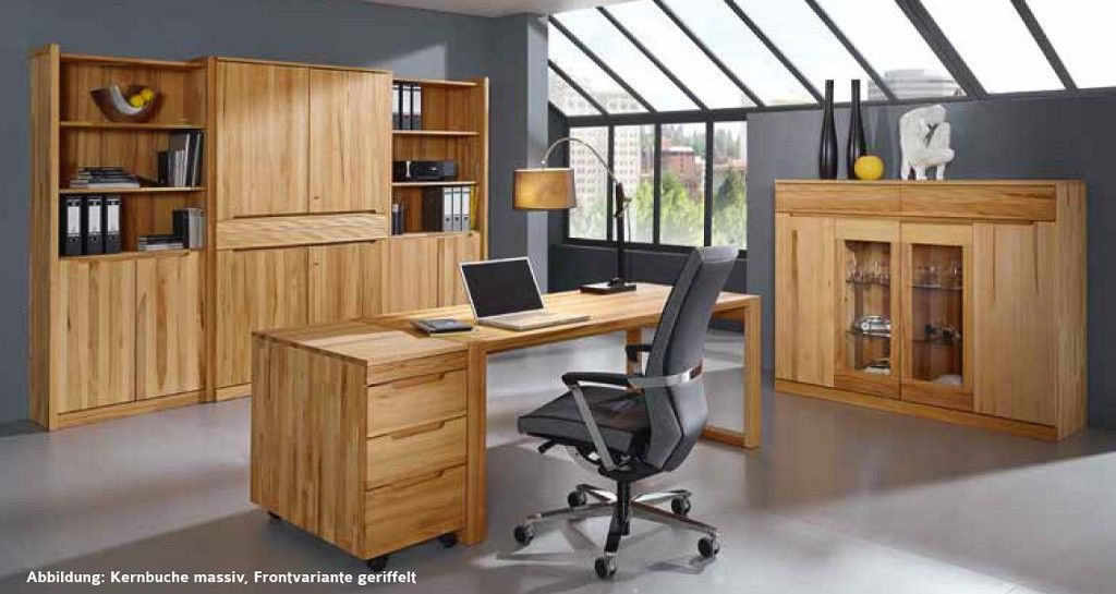 Gradel Office Buromobel Massiv Buro Mobel Mit Www Moebelmit De