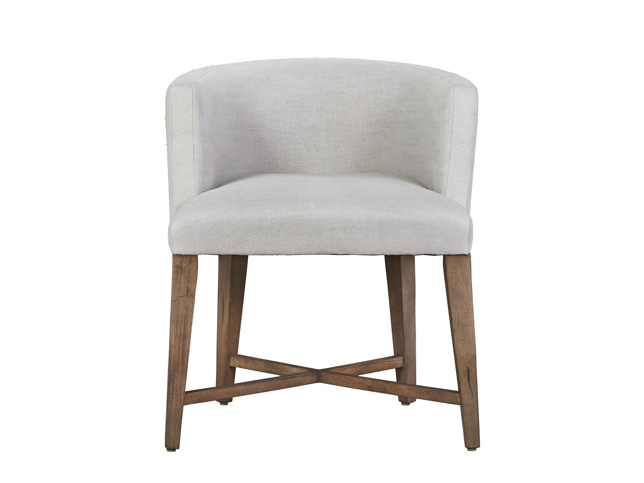 Universal Furniture Authenticity Slip Covered Barrel Chair