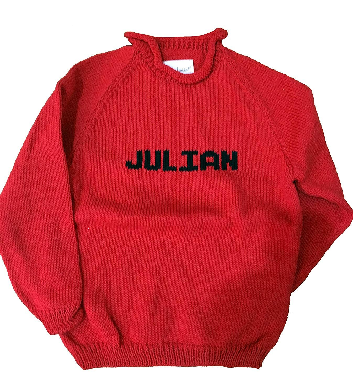 Littlest Enthusiast Toronto Pro Basketball Custom Name Sweater