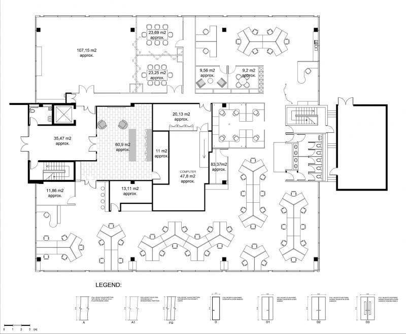 11 Cybercafe Ideas Office Floor Plan Office Plan Office Layout Plan