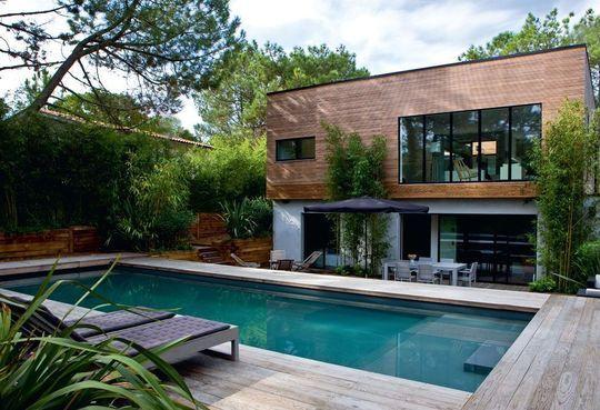 Cap-Ferret  une maison contemporaine à voir Architecture, House