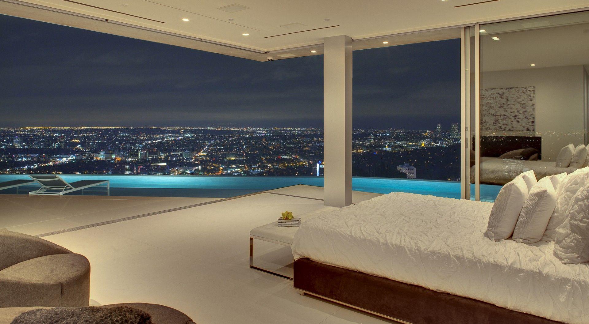 Gulfstream g650 interior bedroom los angeles architect house design  mcclean design  design vip