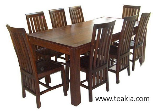 Teak Dining Table 8 Seater Dining Table Dining Set For Sale
