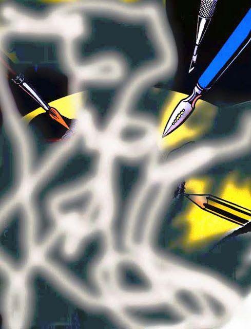 i'm an artist man: asemic tools