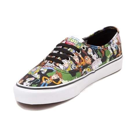 Toy Story Skate Shoes from Vans! These playful Authentic Toy Story ...