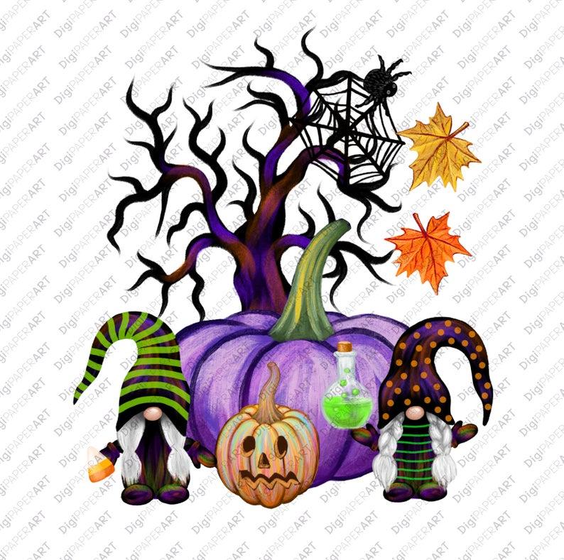 Halloween Png Halloween Gnomes Halloween T Shirt Design Etsy Halloween Tshirts Cute Fall Wallpaper Fall Artwork