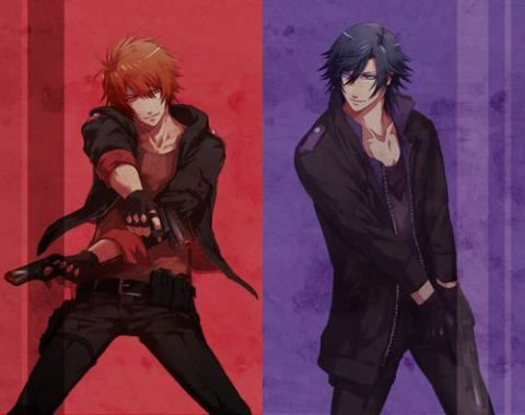 Sexy ass Otoya and Tokiya