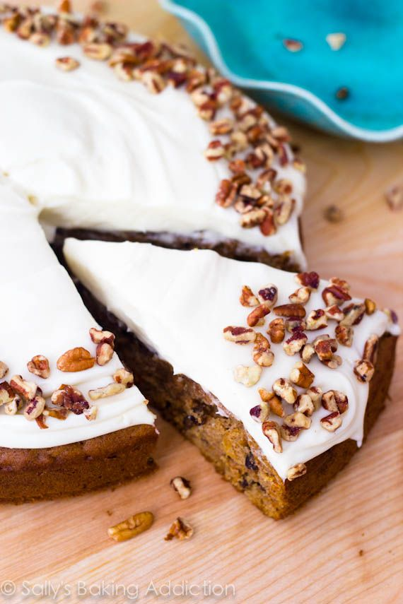 i love this homemade carrot cake recipe the cake is super moist and full of flavor the easy cream cheese frosting is moist carrot cakes cake recipes desserts pinterest