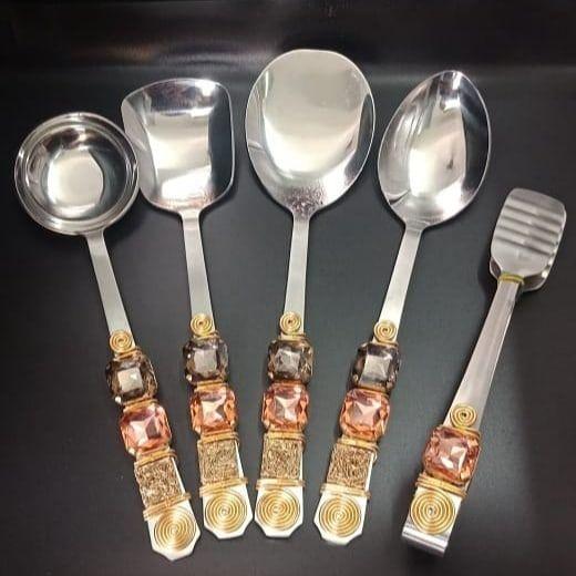 SpoonsservingspoonsstonestablewaretableaccentsDecornakadesignshomedecor