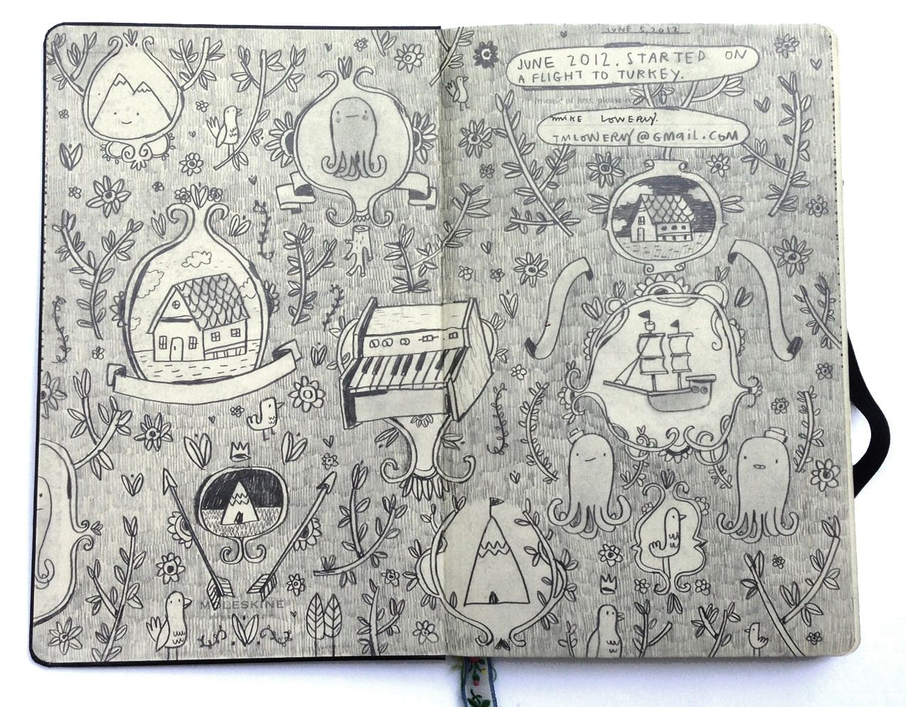 The Daily Sketchbook Blog Of Mike Lowery
