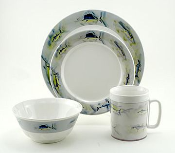 Tableware for Beach Kitchen Decor