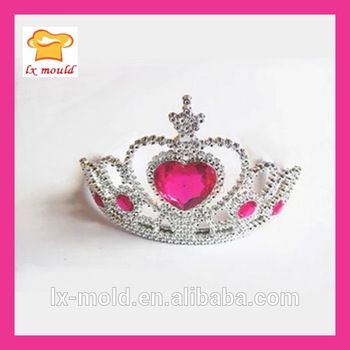 crown cake topper decorating silicone mold