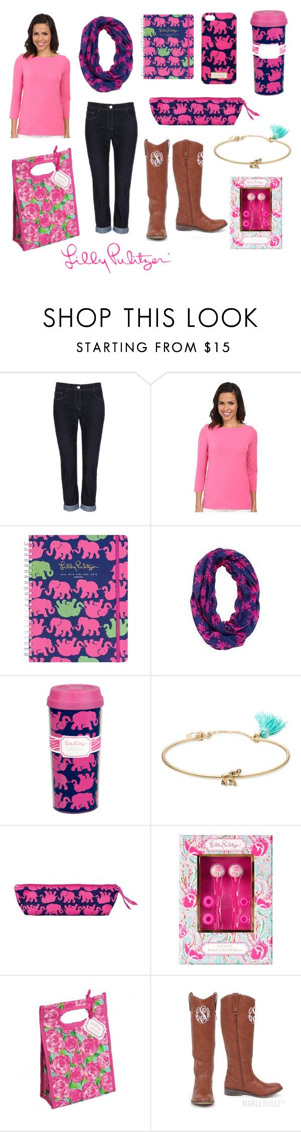 """""""L is for Lilly!!! And happy belated birthday to Lilly Pulitzer herself!"""" by chevronkoala ❤ liked on Polyvore featuring Wallis, Lilly Pulitzer and Lonna & Lilly"""
