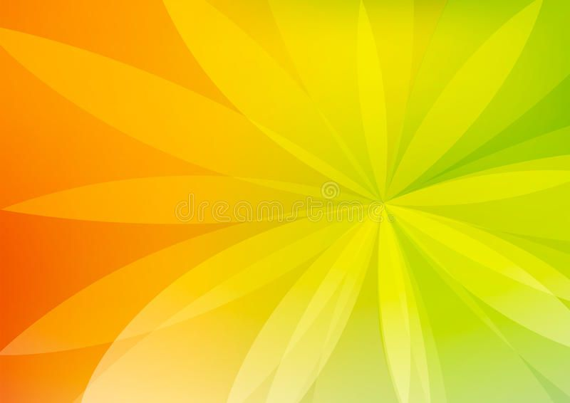 Abstract Green and Orange Background Wallpaper. With vivid colors ,