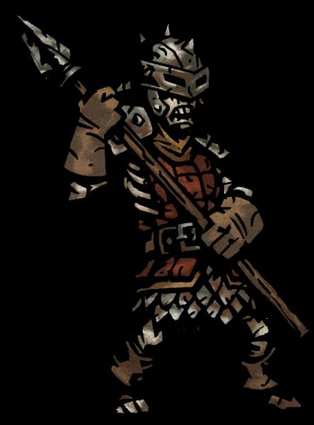 File Bone Solider Png Darkest Dungeon Spearman Dungeon