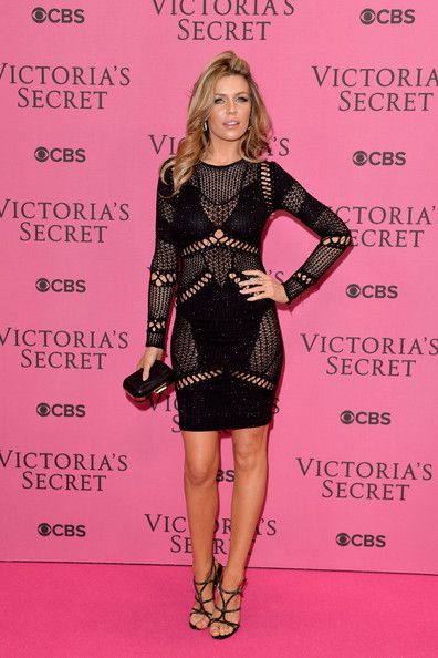 5623ac3473 Abbey Clancy Photos Photos  Arrivals at the Victoria s Secret ...