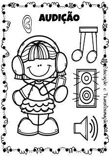 Os Cinco Sentidos Atividades Para Educacao Infantil Atividade